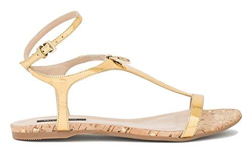 Patrizia Pepe - Sandalias de vestir para mujer dorado dorado