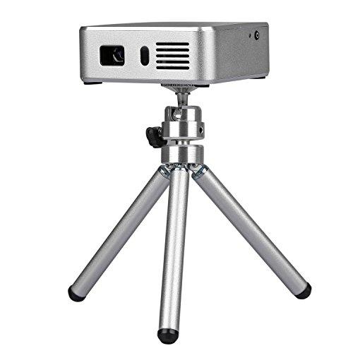 PowerLead Gypo GM60 HDMI Portable Mini LED Projector Home Cinema Theater Entertainment AV VGA USB SD Micro USB Meetings Projector (Black) (E05 White)