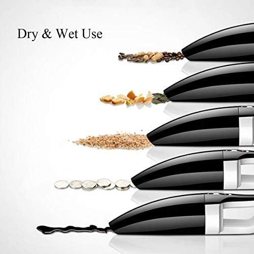 Wright Beard Vuoto palmare 120W 4000Pa Cordless aspirapolvere Portatile tenuto in Mano la casa dell'automobile Dry/Wet Clean (Tre Confezioni), Funzionamento Semplice