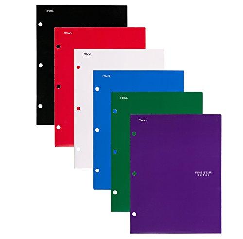 Five Star 4 Pocket Folders Pockets