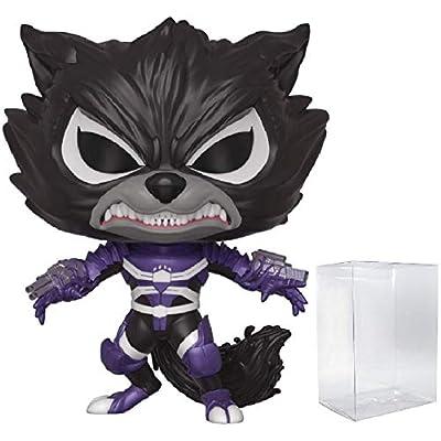 Funko Pop Marvel: Venom - Venomized Rocket Raccoon Pop! Vinyl Figure (Includes Compatible Pop Box Protector Case): Toys & Games