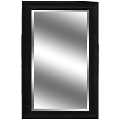 Y-Decor 60-inch x 37-inch Dark Espresso-colored Woodgrain-framed Mirror (Dark Wood Framed Mirror compare prices)
