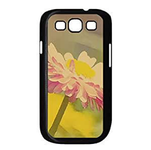 Beautiful Summer Flower Watercolor style Cover Samsung Galaxy S3 I9300 Case (Flowers Watercolor style Cover Samsung Galaxy S3 I9300 Case)