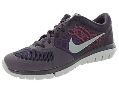 Nike W Flex 2015 RN Flash, Zapatillas de Running para Mujer, Morado (NBL Mtllc Slvr-Vvd Prpl-H), 38 EU: Amazon.es: Zapatos y complementos