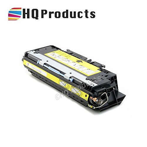 HQ Products Remanufactured Replacement for HP 308A Yellow (Q2672A) Toner Cartridge for HP Color LaserJet 3500, 3500N, 3550, 3550N, 3700, 3700N, 3700DN, 3700DTN, 3700DTNS Series (Q2672a Yellow Remanufactured Toner)