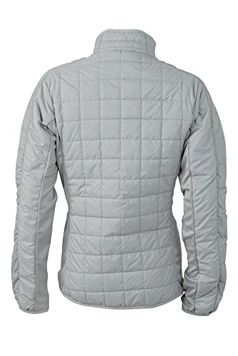James & Nicholson–Hybrid Jacket Chaquetas plata