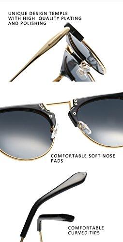 a8e9bb6e34 Joopin Semi Rimless Polarized Sunglasses Women Men Retro Brand Sun Glasses