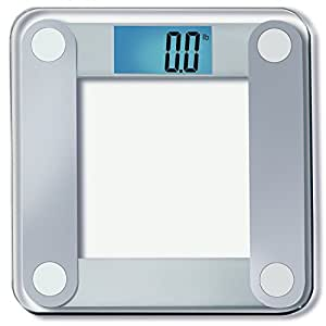 Eatsmart precision digital bathroom scale w extra large lighted display 400 lb for Large capacity bathroom scale