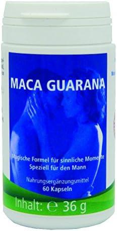 Medicura Maca Guarana 60 Kapseln - 36 g