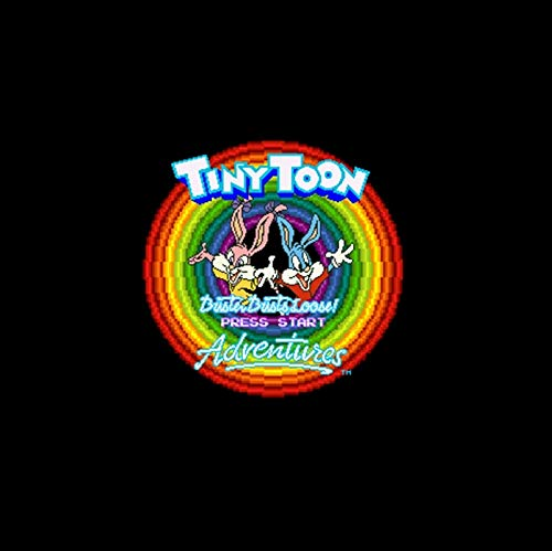 Tiny Toon Adventures - Buster Busts Loose! Ntsc Version 16 Bit 46 Pin Big Gray Game Card For Usa Game Players