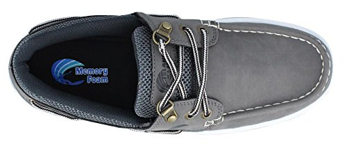 Island Surf Men's Company, Sail Lite Lace up Boat Shoe Gray