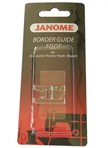 HONEYSEW Top-Load Border Guide foot Stitch For Singer Brother Janome
