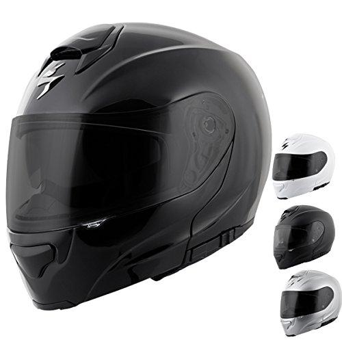 ScorpionExo EXO-GT3000 Full Face Modular Helmet (Matte Black, X-Large)