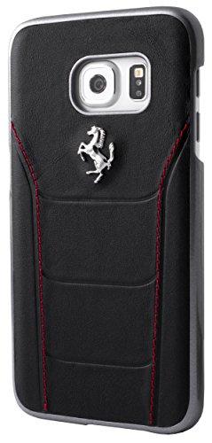 Ferrari 488 Hard Case Leather for Galaxy S7 - - Case Ferrari