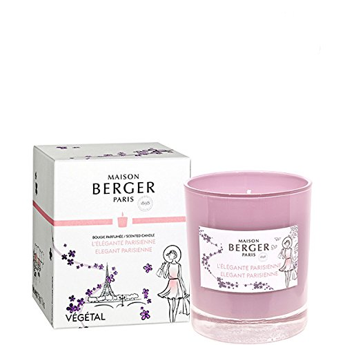 Parfum Berger - Candela Profumata L'Elégante Parisienne 210gr - Edizione Speciale Festa della Mamma