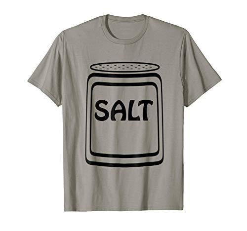 Salt Shaker Halloween Costume T-Shirt for Couples ()
