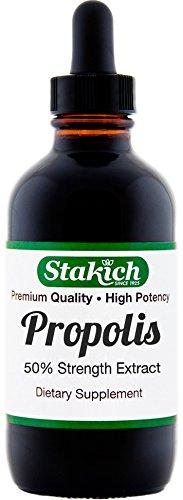 Propolis Liquid Herbal Extract (Stakich Bee PROPOLIS 1 oz Liquid Extract, 50% - Top Quality -)