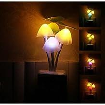 LED Night Light Mushroom Lamp