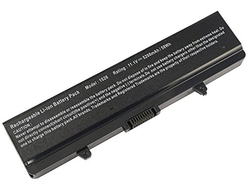 SKYVAST 11.1V 5200mAh Laptop Battery for Dell Inspiron 15...