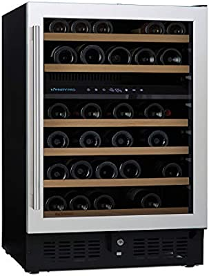 Amazon Com N Finity Pro S By Wine Enthusiast 46 Bottle Dual Zone