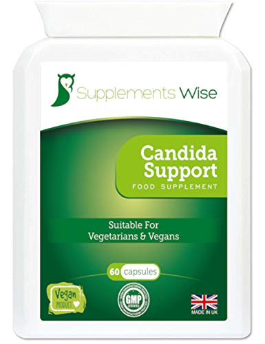 Candida Support Capsules 60 | Yeast Balance, BV (Bacterial Vaginosis)...