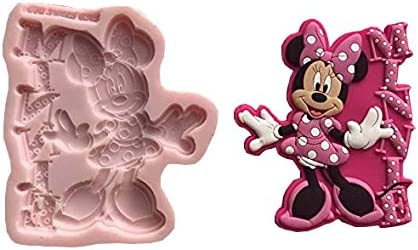 Skater Mickey Mouse Silicone Sponge Cake Mold SLC1