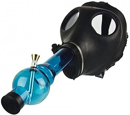 Rasta Style Gas Mask with Acyrlic Tube- Random Color
