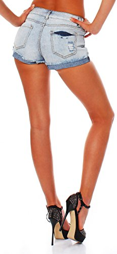 all about eve Damen Jeans Hotpants Shorts Jeansshorts LILY