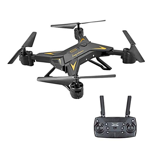 Yealsha Drone with Camera Live Video, Drone X Pro WiFi FPV Quadcopter with Wide-Angle 720P/1080 P HD Camera Foldable Drone RTF – Altitude Hold, One Key Take Off/Land, 3D Flip, APP Control