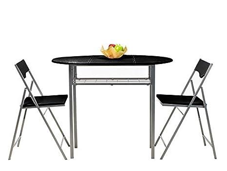 Green Forest - Juego de mesa y sillas (plegables, diseño ...