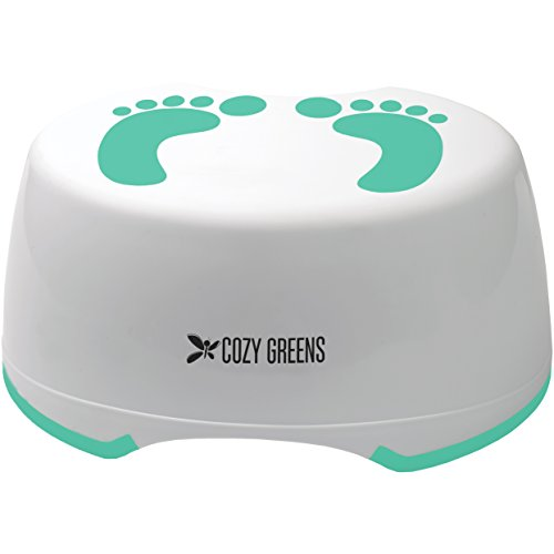 Step Stool for Children | Anti-Slip Top and Bottom | Easy Hygienic Cleaning | FREE Potty Training eBook | Perfect height for Toddler Toilet Training or Kids Bathroom and Kitchen | Lifetime Warranty