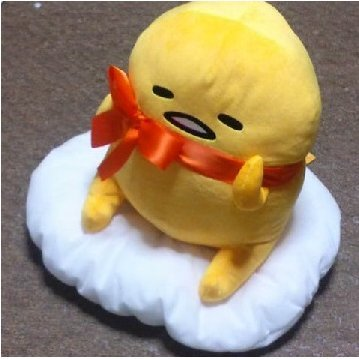 Sanrio Gudetama Gudetto Ribbon BIG Stuffed New From Japan - Warehouse Craft Blog