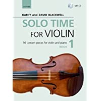 Solo Time for Violin Book 1 + CD: 16 concert pieces for violin and piano