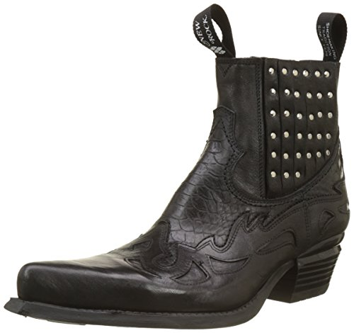 New Rock M-wst047-s3, Stivali Western Uomo Nero (Black 001)