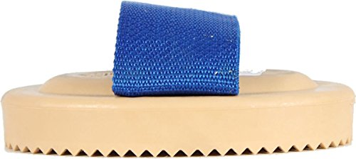 Decker Comb - Decker 33F Flex Curry Comb for Horses, Tan