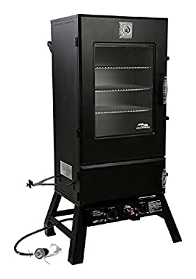 "Masterbuilt Sportsman Elite 44"" Propane Gas Smoker with Window by Sports Service"