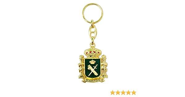 Llavero Emblema Guardia Civil y Escudo de España: Amazon.es: Equipaje