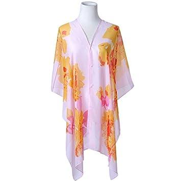LLZWJ chal/mono/decoración/regalo/UV parasol Shawls toallas de playa blusa mujer conducción ciclismo bufandas, naranja: Amazon.es: Deportes y aire libre