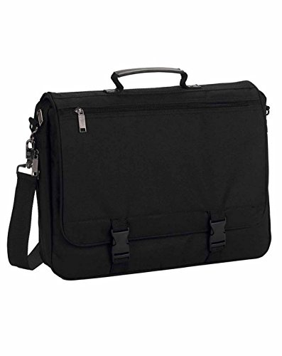 (Ultraclub U1011 UC Classic Briefcase Black One Size)