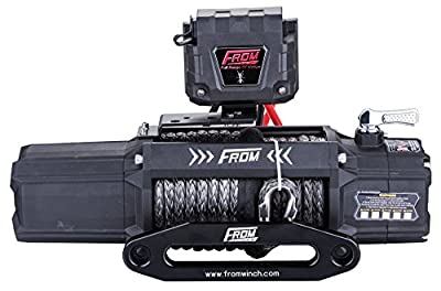 FROM ANT Series Electric Winch for ATV/UTV/Jeep/Truck with Wireless Remote Control