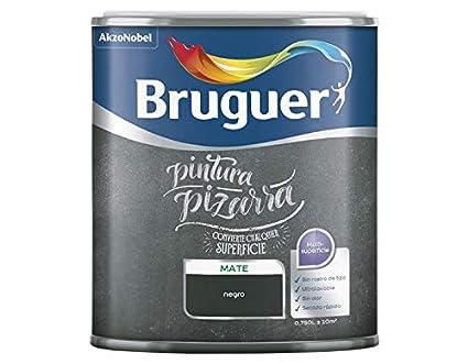 BRUGUER PINTURA PIZARRAS 0,750 LT. (Negro): Amazon.es ...