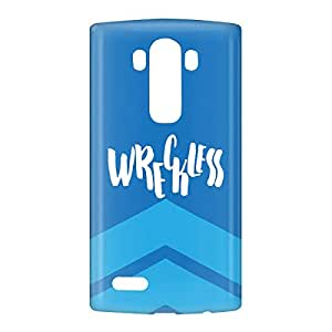 Loud Universe LG G4 Wreckless Print 3D Wrap Around Case - Blue