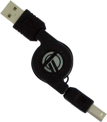 (Targus USB 2.0 Retractable Hi-Speed Cable - ACC87US)