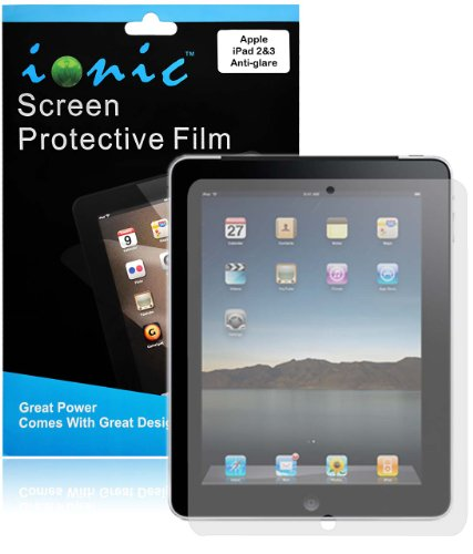 Ipad 3 Screen Overlay (CrazyOnDigital Screen Protector Film Matte (Anti-Glare Anti-Fingerprint) for