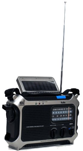 Kaito-KA550-Portable-Solar-Hand-Crank-AMFM-Shortwave-NOAA-Weather-Emergency-Radio-with-Automatic-Weather-Alert-Cell-Phone-Charger