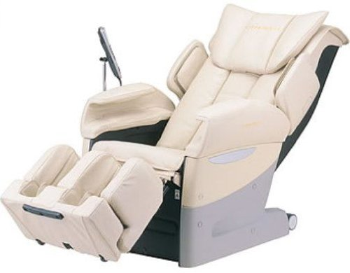 Fujiiryoki EC-3700BEIGE Model EC-3700 Dr. Fuji Cyber-Relax Massage Chair, Beige, Reclining angle Approx 120~170 degrees, Rated time 30 minutes, Neck massage, Super Knead/Super Tapping, Remote Control