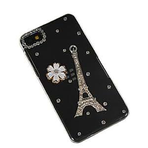 SHOPPINGBOX Luxury Diamond Bling Rhinestone Crystal Hard Back Etui Cover Case With 1x Screen Protector For Blackberry Z10 BB 10 210