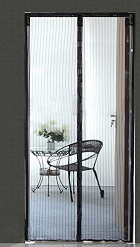 Magnetic door screen magnets sewn no gaps 39 x 83 frame for Retractable screen door magnets