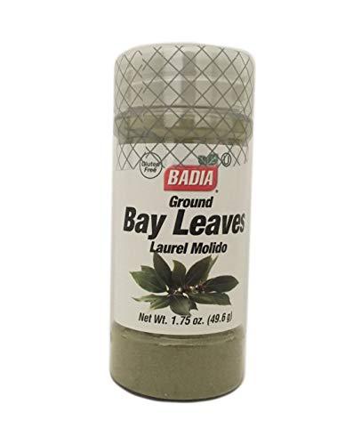 - 1.75 oz Jar-Ground Bay Leaves Powder/Laurel en polvo Molido Gluten Free Kosher