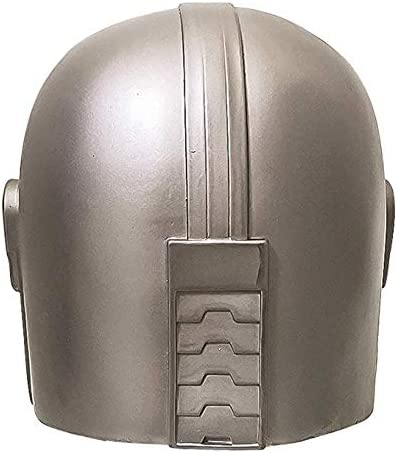 Yaad Masque Mandalorien Cosplay Casque Latex L/éger Copie du Costume Mandalorien Masqurade